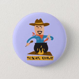 Texas Chili Pinback Button