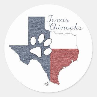 Texas Chinooks Stickers