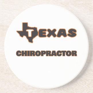 Texas Chiropractor Sandstone Coaster