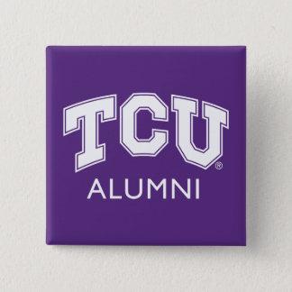 Texas Christian University Alumni Button