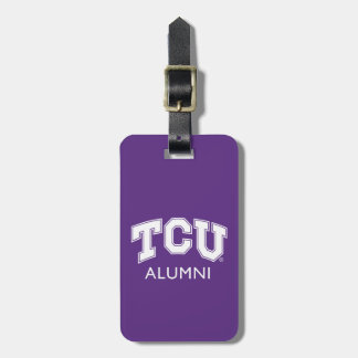 Texas Christian University Alumni Luggage Tag