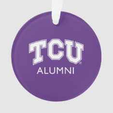 Texas Christian University Alumni Ornament at Zazzle