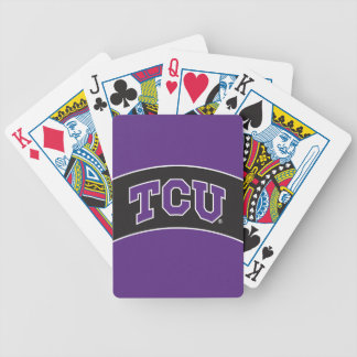 Texas Christian University Bicycle Playing Cards