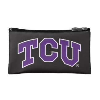 Texas Christian University | Chevron Cosmetic Bag