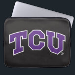 "Texas Christian University Computer Sleeve<br><div class=""desc"">These Texas Christian University products make the perfect gift for the TCU fans,  faculty,  students,  and alumni. Celebrate your TCU pride in style with these customizable Horned Frogs gifts from Zazzle.</div>"