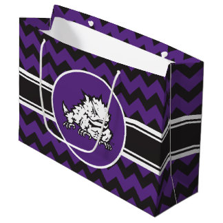 Texas Christian University Frog Large Gift Bag