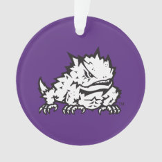 Texas Christian University Frog Ornament at Zazzle