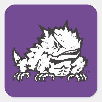Texas Christian University Frog Square Sticker