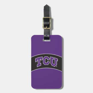 Texas Christian University Luggage Tag