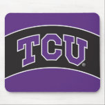 """Texas Christian University Mouse Pad<br><div class=""""desc"""">These Texas Christian University products make the perfect gift for the TCU fans,  faculty,  students,  and alumni. Celebrate your TCU pride in style with these customizable Horned Frogs gifts from Zazzle.</div>"""