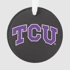 Texas Christian University Ornament at Zazzle