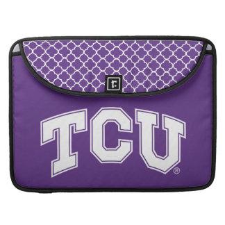 Texas Christian University | Quatrefoil MacBook Pro Sleeve