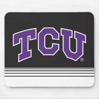 Texas Christian University   Stripes Mouse Pad