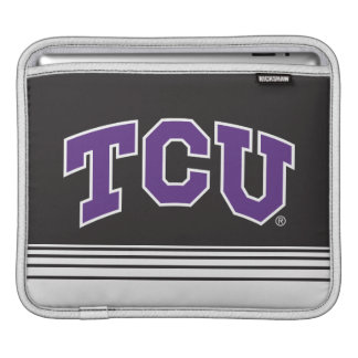 Texas Christian University | Stripes Sleeve For iPads