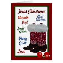 Texas Christmas Card