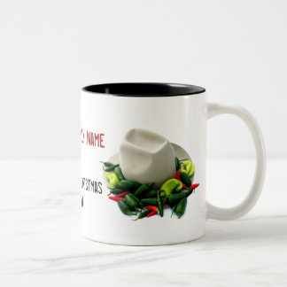 Texas Christmas Cowboy Hat Mug
