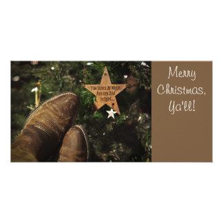 Texas Christmas Photo Card