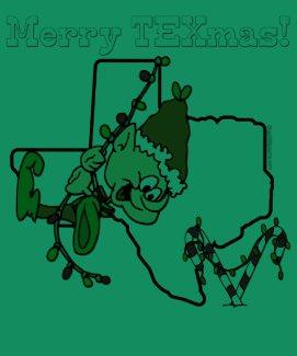 Texas Christmas T-shirt