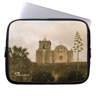 Texas Church-Vintage/Sepia Computer Sleeve