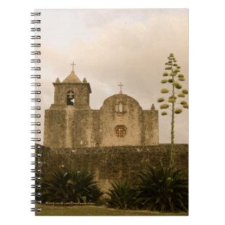 Texas Church-Vintage/Sepia Notebook