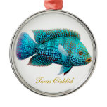 Texas Cichlid Carpintis Aquarium Fish Ornament