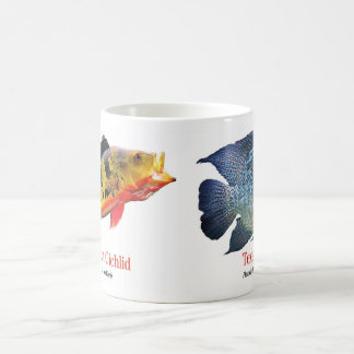 Texas Cichlid & Eye-Spot Cichlid Coffee Mug