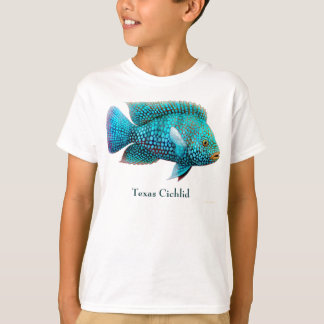 Texas Cichlid Kids T-Shirt