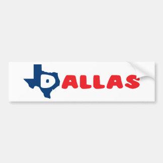 Texas Cites Dallas Bumper Sticker