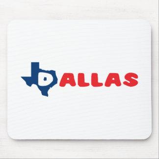 Texas Cites Dallas Mouse Pad