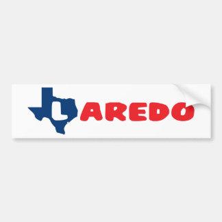 Texas Cites Laredo Car Bumper Sticker
