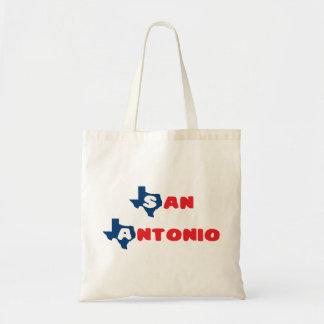 Texas Cites San Antonio Canvas Bag