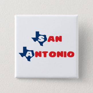 Texas Cites San Antonio Pinback Button