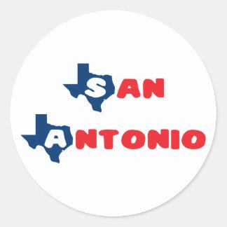 Texas Cites San Antonio Stickers
