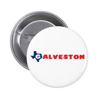 Texas Cities Galveston Button
