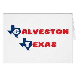 Texas Cities Galveston Card