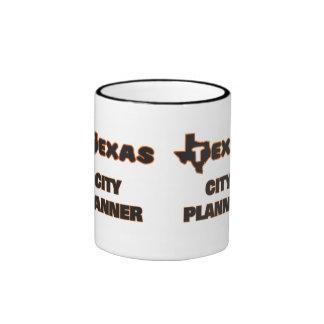Texas City Planner Ringer Coffee Mug