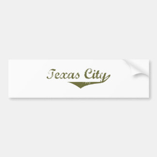 Texas City  Revolution t shirts Car Bumper Sticker
