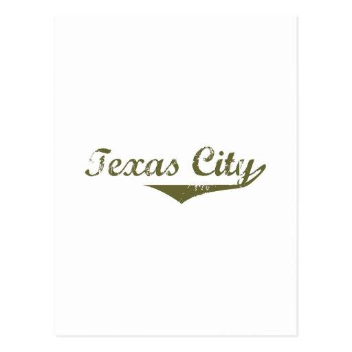 Texas City  Revolution t shirts Post Card