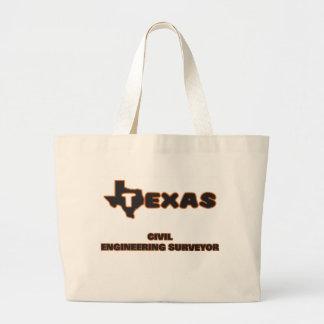 Texas Civil Engineering Surveyor Jumbo Tote Bag