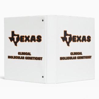 Texas Clinical Molecular Geneticist Binder