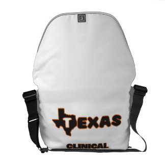 Texas Clinical Psychologist Courier Bag