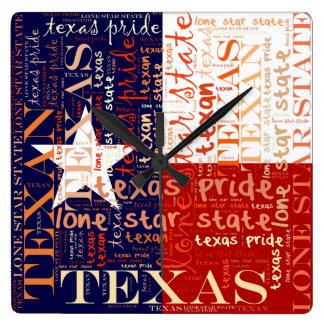 Texas Wallclock