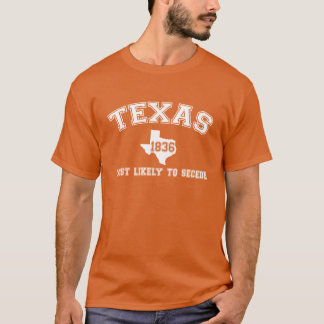 Texas College Print T-Shirt