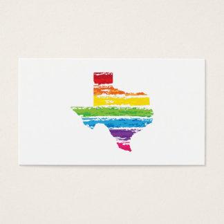 texas color strokes business card