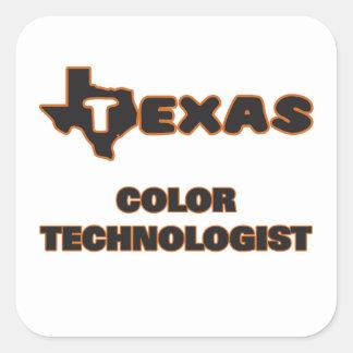 Texas Color Technologist Square Sticker