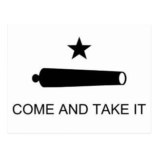 Texas, Come and Take It Postcard