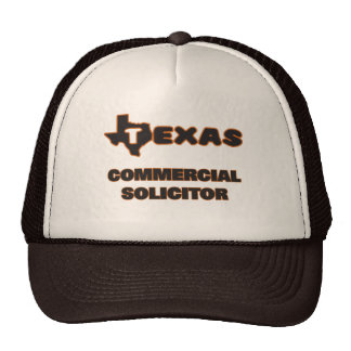 Texas Commercial Solicitor Trucker Hat