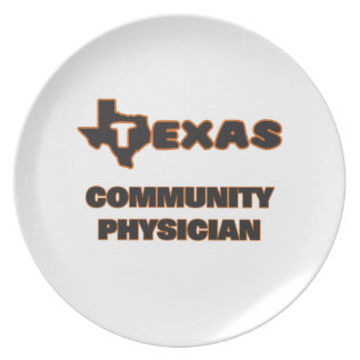 Texas Community Physician Dinner Plate