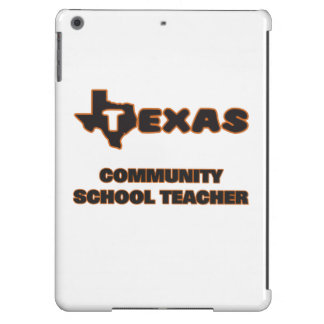 Texas Community School Teacher iPad Air Case