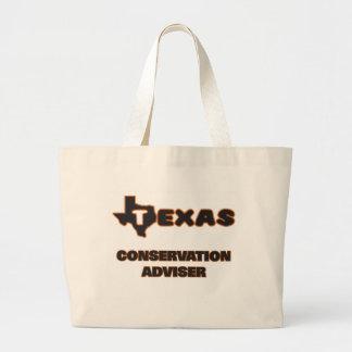 Texas Conservation Adviser Jumbo Tote Bag